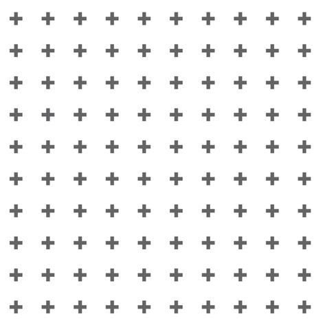 mod baby » tiny crosses grey fabric by misstiina on Spoonflower - custom fabric