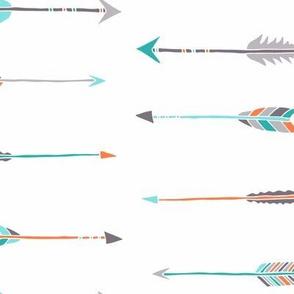 Arrows aqua