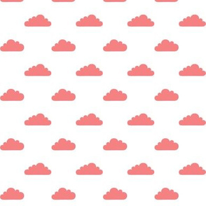 mod baby » tiny clouds coral