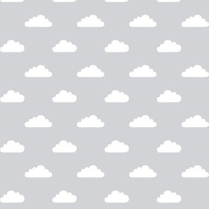 mod baby » tiny clouds on grey light