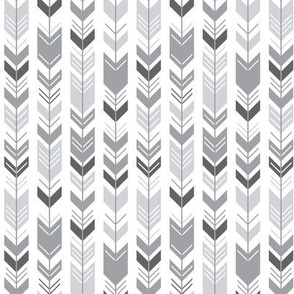 mod baby » herringbone arrows grey