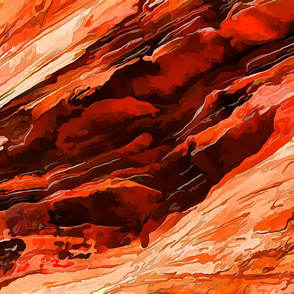 Red Rock Abstract 1-YD