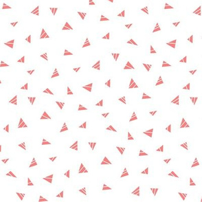 mod baby » tiny triangles coral