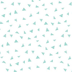 mod baby » tiny triangles mint