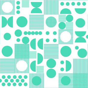 dots // scandi dots green graphic polka dots