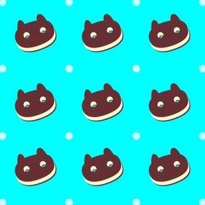 Chocolate Cookie Cat