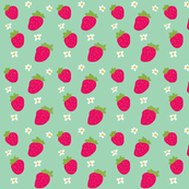 Strawberries Green