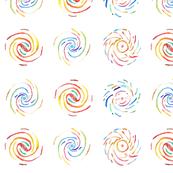 Galaxies - watercolour