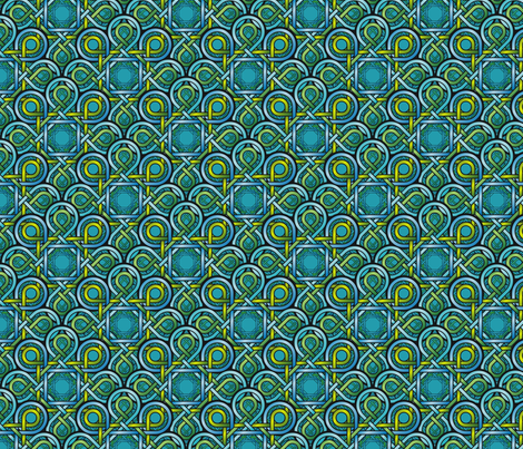 Loopy abstract fabric by hannafate on Spoonflower - custom fabric