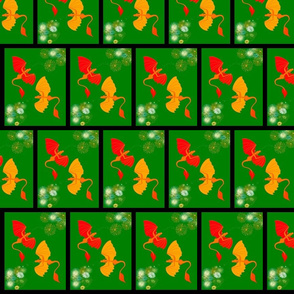 firework dragons bricks