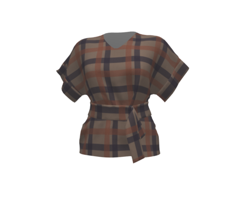 Retro Plaid Autumn