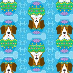 Easter Beagle (blue)