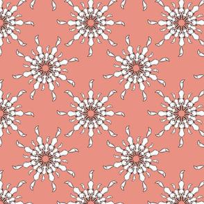 Sketchy fox (pink)