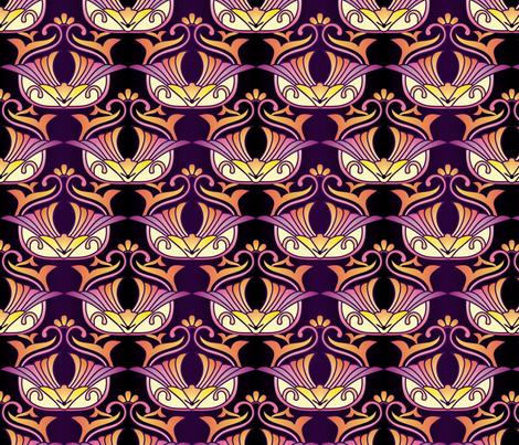 asian elegance  fabric by hannafate on Spoonflower - custom fabric