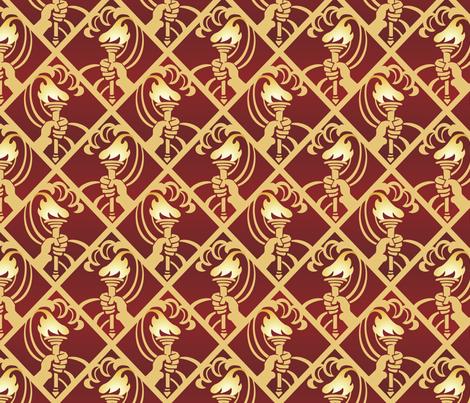 torch fabric by hannafate on Spoonflower - custom fabric