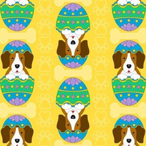 Easter Beagle (yellow)