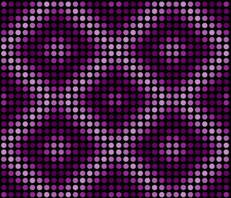 Violet magenta polka dots with diamond shapes. fabric by graphicdoodles on Spoonflower - custom fabric