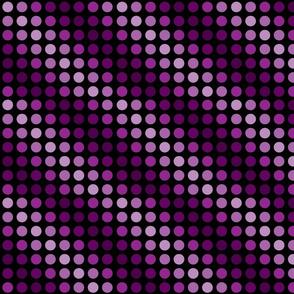 Violet magenta polka dots smaller.