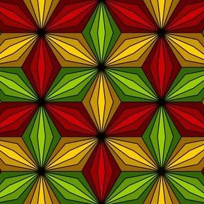 trombus pod 3 - red + gold + green