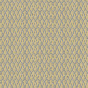 Arrowy - grey & yellow