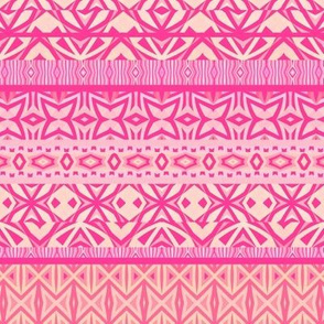 Tribal Pattern - Pink