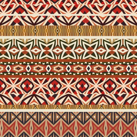 Tribal Pattern #2 fabric by ornaart on Spoonflower - custom fabric