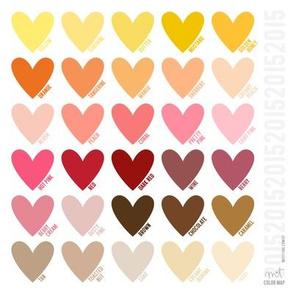 misstiina 2015 colors - warm
