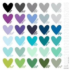 misstiina 2015 colors - cool