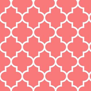 quatrefoil LG coral