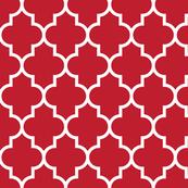 quatrefoil LG red