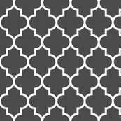 quatrefoil LG dark grey