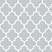 quatrefoil LG sterling grey