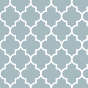 quatrefoil LG slate blue