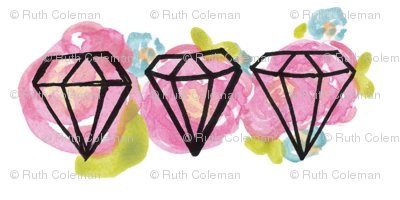 Floral Diamonds 1