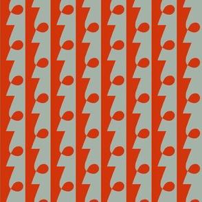 Mystery Man Orange Grey 1