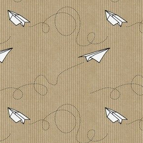 Paper Planes (on Kraft paper)