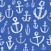 Anchors Aweigh Deep Sea Blue