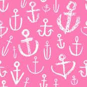 Anchors Aweigh Bubblegum Pink