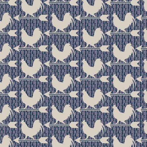 Breezy Weathervane - Dark fabric by siya on Spoonflower - custom fabric