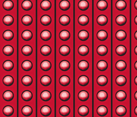 red field fabric by erniekocats on Spoonflower - custom fabric
