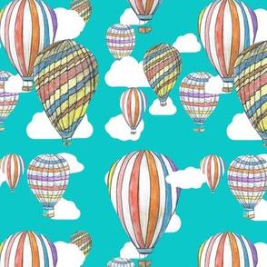 MoKa Balloons up and away