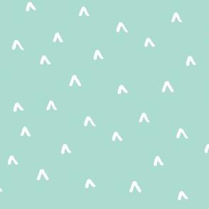 Arrow Heads // Mint