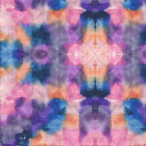 Batik candy colors