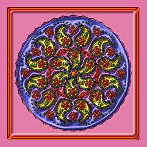 mandala_21K_metallic_scarf