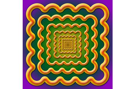 Vawe_scarf fabric by stradling_designs on Spoonflower - custom fabric