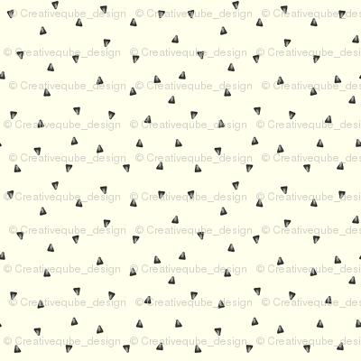 Watercolor Grey triangles