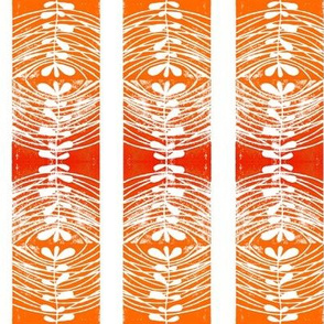 mirror Red Orange