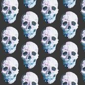 Geometric Skulls Dark