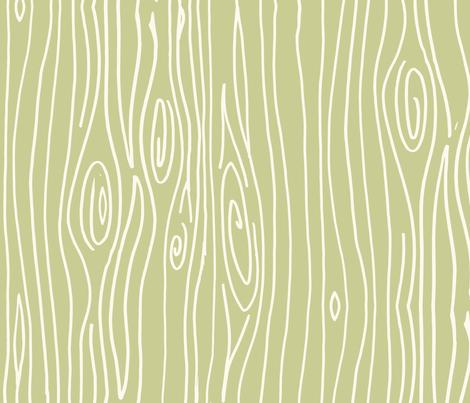 Wonky Woodgrain - Artichoke fabric by jesseesuem on Spoonflower - custom fabric