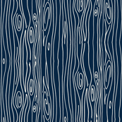 Wonky Woodgrain - Navy